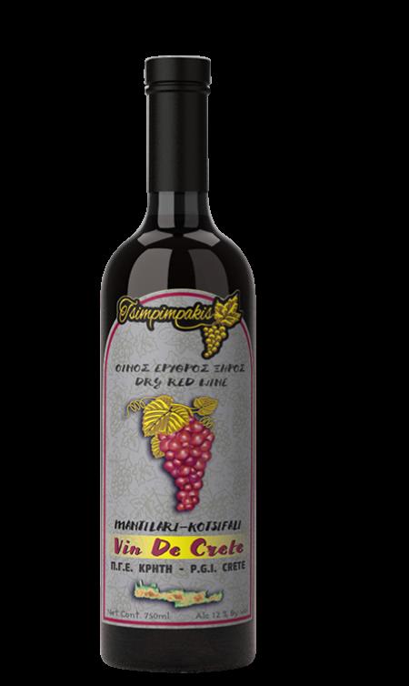 Dry red wine